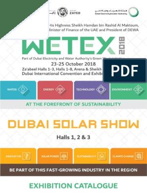 WETEX2018 Catalogue | United Arab Emirates | Dubai
