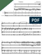 Cabulero Federico Grela - Partitura y Partes