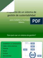 Sistema de Gestión de Sustentabilidad