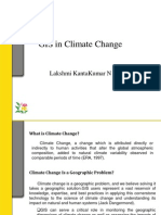 GIS in Climate Change