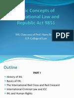 Part I History and Basic IHL