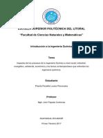 Trabajo de Investigacion 2 Impactos de Los Procesos de La Ingenieria Quimica y Los Temas Contemporaneos