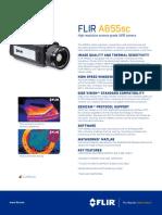 Camaras Termografica Flir a655sc Para Aplicaciones de Id