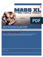 Mass XL Nutrition Plan by Guru Mann
