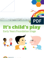 095. It's Child's Play; Early Years Foundation Stage