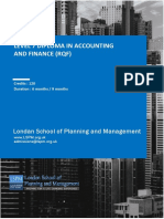 Level 7 Diploma in Accounting and Finance