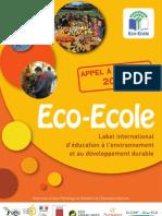Appel Projet Du Programme Eco-ecole 2010