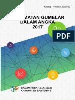 Kecamatan Gumelar Dalam Angka 2017