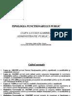 tipologia functionarului public ppt