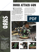 Ork Shock Attack Gun Master Class