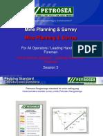 Mine Planning & Survey