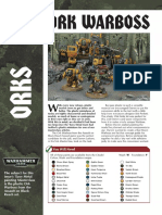 Ork Warboss Painting Master Class