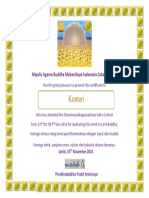 16527_Design Certificate for Dhammacak Contest