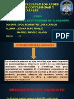 Proyecto de Exportacion de Alcachofa