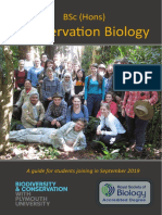 BSc (Hons) Conservation Biology at University of Plymouth - 2019 Guide