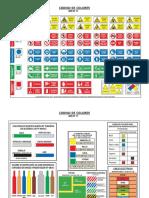 Reg 01-E28 Código de Señales y Colores