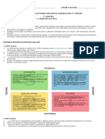Methods in Strategic Analysis