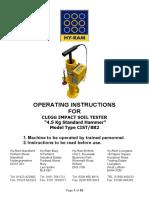 Clegg Impact Hammer