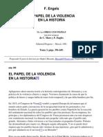 Engels Federico El Papel de La Violencia en La Historia