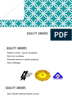 2. Quality Awards