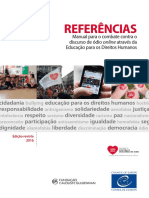 Referencias Manual Para o Combate Do Discurso de Odio Online