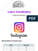 Learn Vocabulary- Set 77