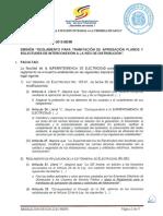 22. Resolución SIE 030 2015 MEMI Reglamento Tramitación Aprobación Planos y Solicitudes Interconexión de Fecha 29 de Mayo de 2015 1