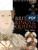 Brief History of British Kings & Queens, A - Ashley, Mike