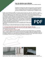 Cálculo de Terças Metálicas de Cobertura Para Telhados