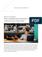 Guia Completo Para Entender o Lucro e Custos Do Seu Restaurante - Delivery Direto