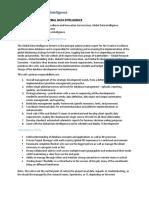 Job Description - Director, Global Data Intelligence