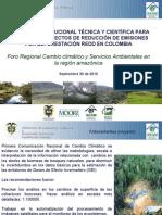 Capacidad institucional técnica y científica para el apoyo a proyectos Redd en Colombia