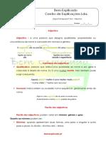2.9 Ficha Informativa - Adjetivo