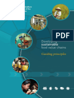 FAO. 2014. Developing sustainable food value chains – Guiding principles. Rome