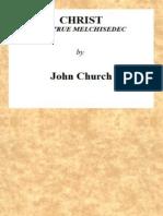 Christ the True Melchisedec