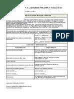 Formato Acciones Correctivas y Preventivas