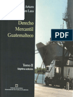 Libro de Derecho Mercantil Guatemalteco, René Villegas, Tomo II