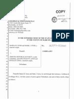 Lawsuit Against AZGOP Chairman Jonathan Lines
