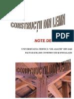 Note de Curs_Constructii Din Lemn_8!9!10_2018