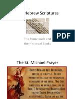 Hebrew Scriptures Pentateuch