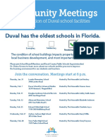 2019 All Community Meetings for School Facilities