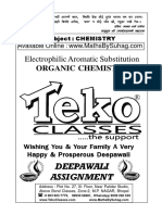 Class 12 Organic Chemistry Diwali Assignment
