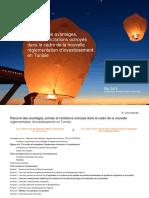 Résumé Des Avantages Primes Et Incitations Octroyés Dans Le Cadre de La Nouvelle Réglementation d'Investissement en Tunisie
