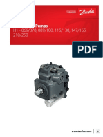 Danfoss H1P 069–H1P 250 Axial Piston Single Pumps Service Manual
