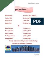 Irrigation System of Pakistan