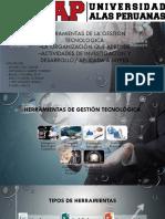 Herramientas de La Gestion Tecnologica UAP