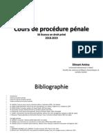 Cours Procedure Pénale