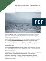 04-01-2019 Sonora Pide Declarar Emergencia en Los 72 Municipios Por Heladas - Noticieros Televisa