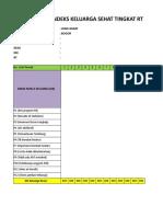 Aplikasi Manual Menghitung IKS Tingkat RW 9