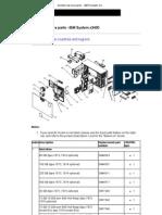 System Service Parts - IBM System x3400